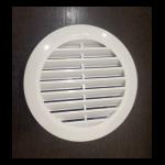 Вентиляционная решетка белая 100 мм с т/к