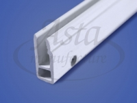 Профиль ПВХ стеновой гарпунная система перфорированный 2,5 м