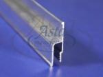 Профиль стеновой алюминиевый гарпунный тяжелый (2,5м)
