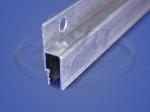Профиль стеновой алюминиевый гарпунный тяжелый с отверстиями (2,5м)