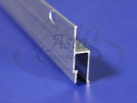Профиль стеновой алюминиевый гарпунная система перфорированный облегченный (2,5м)