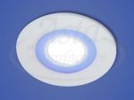 Светильник LED X-002, LY 206 B, 6+2 W, d 110х90, 6000 K, cиний