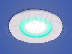 Светильник LED X-002, LY 206 G, 6+2 W, d 110х90, 6000 K, зеленый