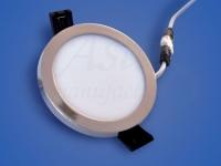 Светодиодный светильник  LY 708 Chrome, 6 W, d 90х75, 4000 K (нейтральный)