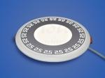 Светодиодный светильник 3-х режимный RMD 6+3 W, d 155х126, 4000 К (орнамент 25)