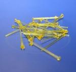 Иголки Starpins для «Звездного неба» желтые