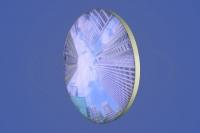 Светильник большого диаметра LED, 1900 мм. с фотопечатью