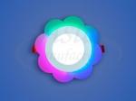 Светодиодный светильник 3-х режимный CL RGB Ромашка