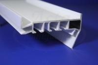 Профиль ПК-5 Гардина (белый) 3,2м