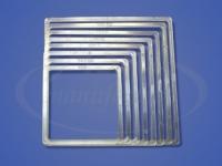 Термоквадрат прозрачный LED 90x90-160x160 мм