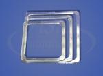 Термоквадрат прозрачный LED 60x60, 70х70, 80х80 мм
