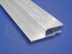 Профиль стеновой алюминиевый 2,5м Стандарт
