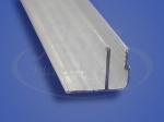 Профиль потолочный алюминиевый гарпунная система 2,5м