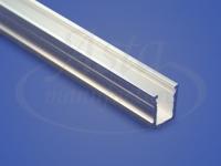 Профиль штапиковый алюминиевый облегченный 2 м