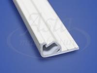 Профиль ПВХ «Прищепка» потолочный Descor, Clipso 2,6м