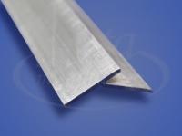 Профиль отбойник У образный алюминиевый 2,5м