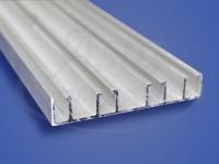 Алюминиевый потолочный карниз КП 4042 2,5 м