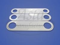 Обвод трубы пластина 24, 28, 34 мм L 210 мм