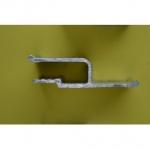 Профиль гарпунный алюминиевый стеновой (2,0) С запилом