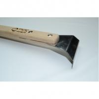Лопатка гарпунная дерево 90*, 2 гиба, длинная ручка РКК