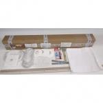 Комплект натяжного потолка № М1 белый матовый размеры полотна 2,0 м х 1,0 м.