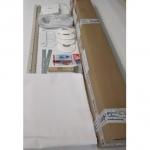 Комплект натяжного потолка № М3 белый матовый размеры полотна 2,0 м х 2,2 м.