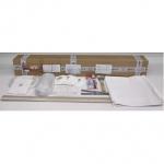 Комплект натяжного потолка № М9 белый матовый размеры полотна 3,6 м х 4,5 м.