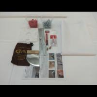 Комплект натяжного потолка Дескор HALEAD 3,0*3,20(Тканевый натяжной потолок 9,6м2),